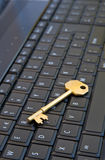 Key to the internet. Royalty Free Stock Image