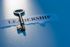 Key to Leadership Stock Photo