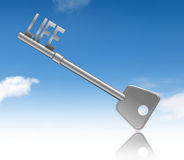 Key to life. Royalty Free Stock Image