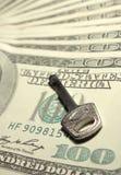Key to money Stock Images