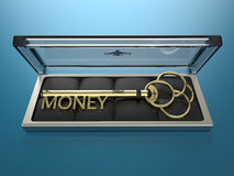 Key to Money Stock Photo
