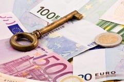 Key to money1 Stock Photos