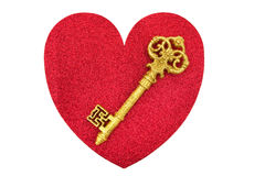 Free Key To My Heart Royalty Free Stock Images - 12669729