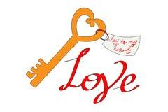 Key to my Heart Royalty Free Stock Photos
