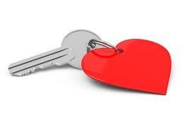 Key to my heart royalty free illustration