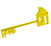 The key to my house. Stock Photo