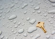 Key to new beginnings Stock Photography