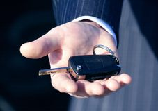 A key to new car for business Stock Image