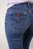 Key to pants Stock Photos