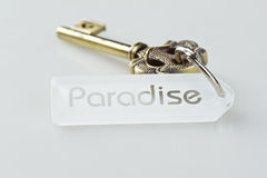 Key to Paradise Stock Image