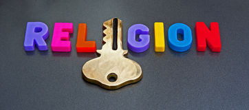 Key to religion Stock Images