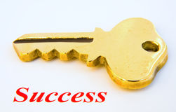 Key to Success ? Royalty Free Stock Image