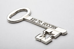 Key to Success. Horizontal image of a keys with the words key to success written on it Royalty Free Stock Photography