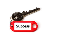 Key to success. Royalty Free Stock Images