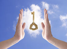 The key to success Stock Images