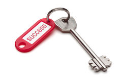 Key to success. Royalty Free Stock Photo