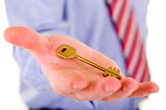 Free Key To Success Royalty Free Stock Image - 4519836