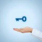 Key to success Stock Image
