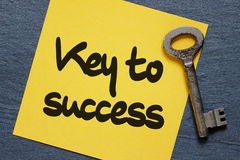 Key to success concept Stock Photography