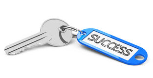 The key to success Royalty Free Stock Photo