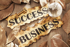Key to success in global business concept Royalty Free Stock Images
