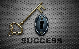 The key to success Stock Photography