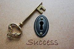 Key to success Royalty Free Stock Photos