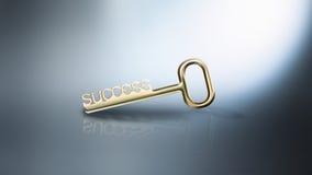 Key to success Royalty Free Stock Photo