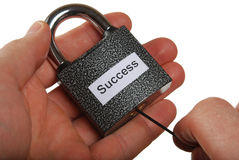 The key to success Stock Photos