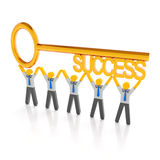 Key to success Stock Image