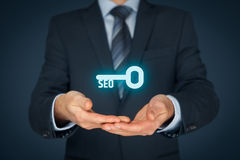 Key to successful SEO Stock Images
