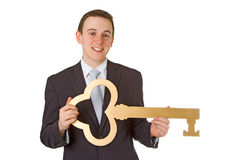 Key to sucess Stock Images