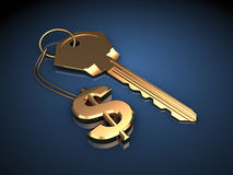Key to wealth Stock Images