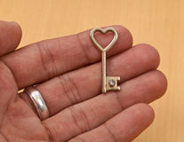 Key To Your Heart Royalty Free Stock Photo