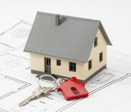 Key to your new residential project Stock Photo