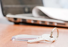 Key with a trinket Stock Image