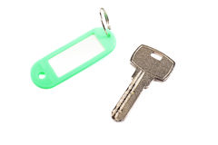 Key and trinket separately. royalty free stock photography