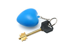 Key and trinket Stock Photography