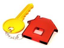 Key with trinkets Stock Photo