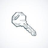 Key. Vector drawing