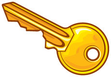 Key - vector illustration Royalty Free Stock Images