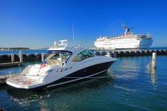 Key West码头 免版税库存图片