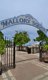 Key west. Florida key west mallory square sign Royalty Free Stock Photos