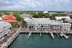 Key West. Aerial image of Key West. Florida Royalty Free Stock Photography