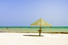 海滩在Key West 免版税库存照片