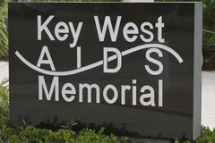 Key West Aids Memorial Stock Photo