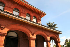 Key West Art Museum. Image of the Key West Florida Art Museum stock photos
