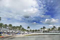 Key west beach Royalty Free Stock Photo