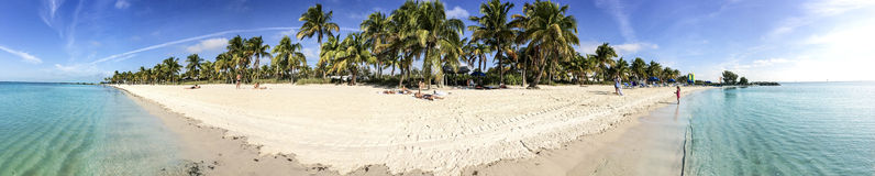 Key West. Beautiful beach in Key West, Florida Stock Images