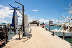Key West-Bucht-Jachthafen Stockfotografie